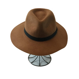 FLOPPY HAT WITH BLACK RIBBON - GraceHats Hat Grace Hats - Grace Hats