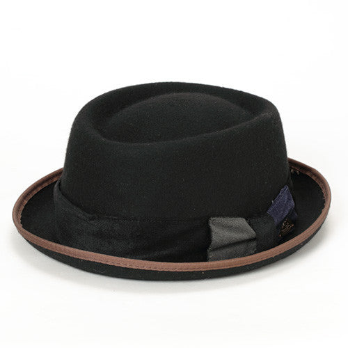 PORK PIE HAT VEL - GraceHats Hat Grace Hats - Grace Hats