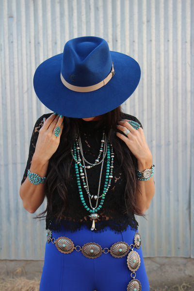 The Highway by Charlie 1 Horse - Cobalt Blue - Triangle T Boutique