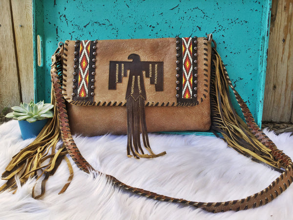 Thunderbird Ranch Clutch - Triangle T Boutique
