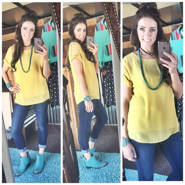 Deep Turquoise Strand - Triangle T Boutique
