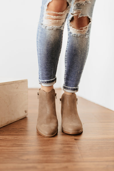 MIA Cliff Bootie in Tan