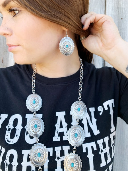 The Montana Necklace - Triangle T Boutique