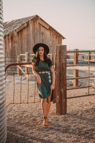 The Babe Maxi Dress - Emerald