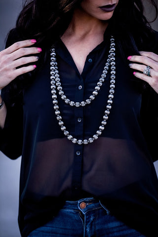 The Charlotte Necklace - Triangle T Boutique