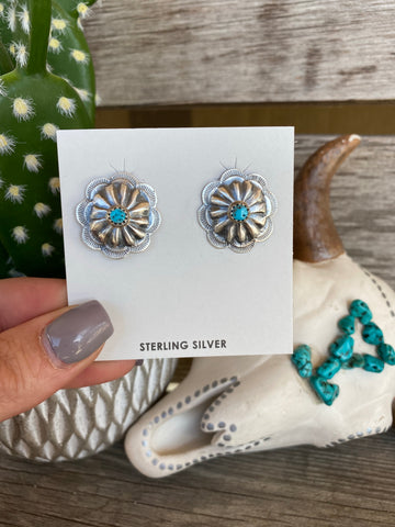 The Krin Turquoise Earrings