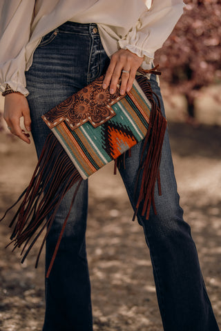 The Open Range Saddle Blanket Purse