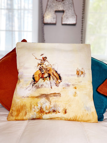 Ranch Hand Pillow Case - Ridin' For Broke