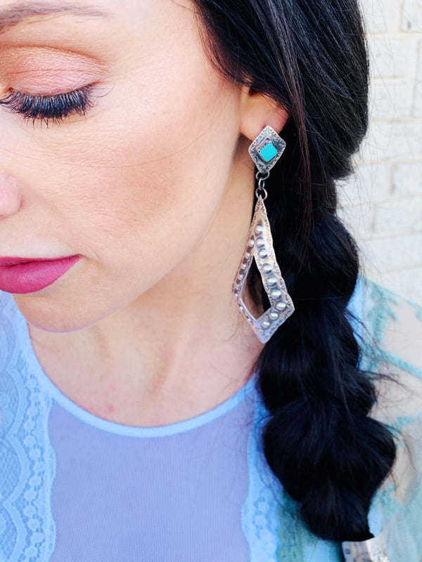 The Josie Escalido Earrings - Triangle T Boutique