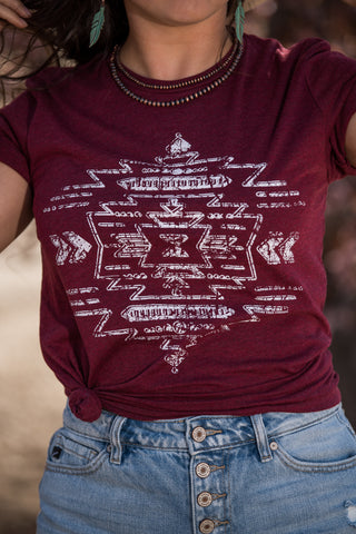 The Border Town Tee