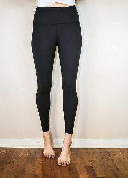 The Basic Girl Black Leggings - Plus