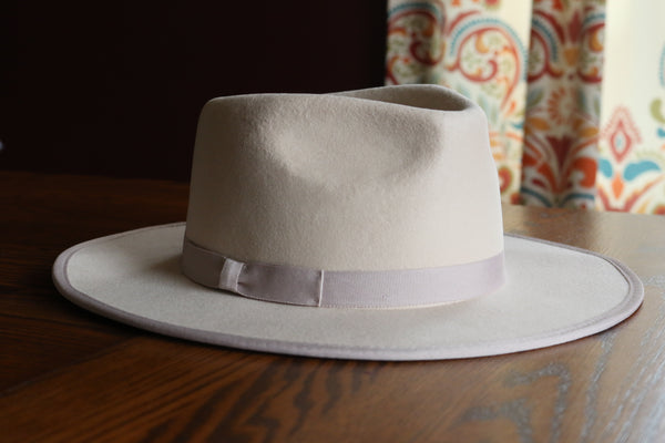 The Wild Hare Felt Hat - Oatmeal - Triangle T Boutique