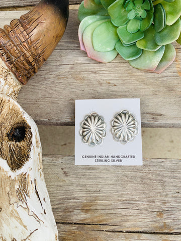 The Bruneau Concho Earrings - Triangle T Boutique