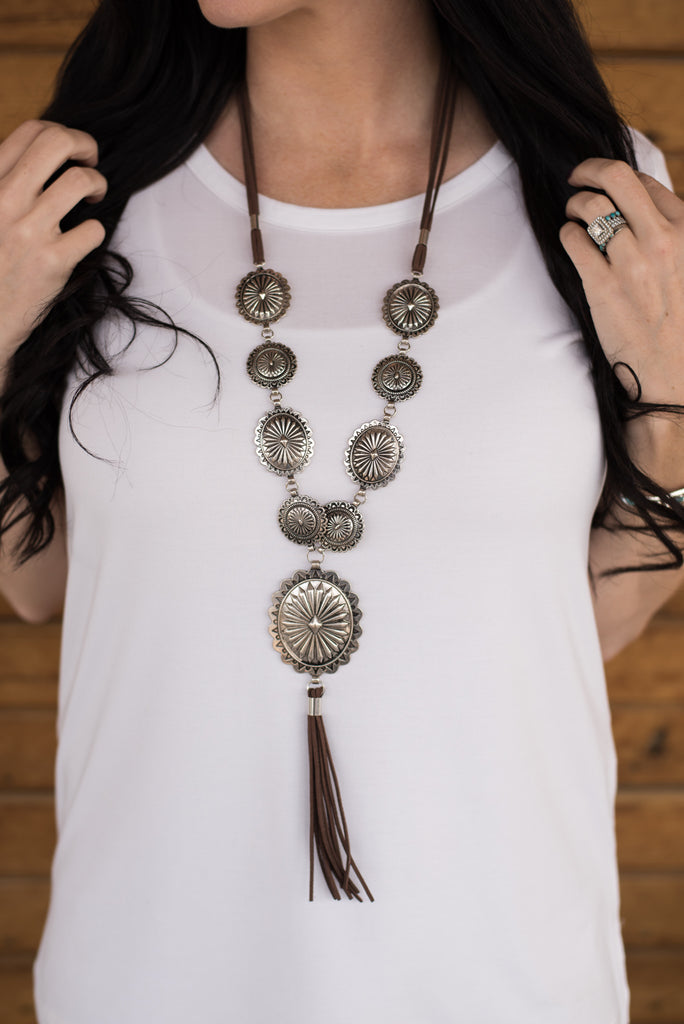 The McCall Concho Necklace