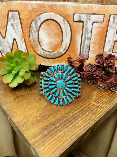 Ultimate Turquoise Cuff - Triangle T Boutique