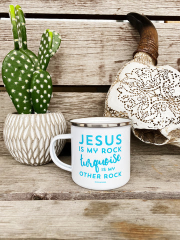 Jesus and Turquoise Camp Cup