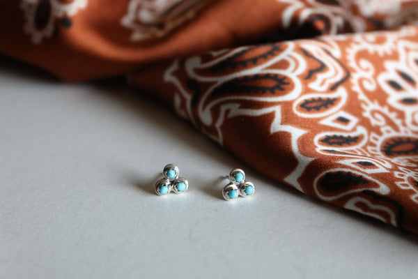 The Sawyer Stud Earrings - Triangle T Boutique