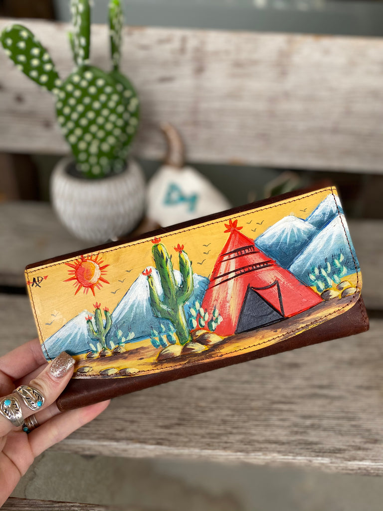 Painted Mesa Wallet - TeePee