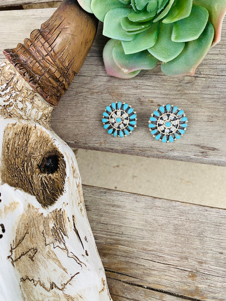 The Matilda Cluster Earrings - Triangle T Boutique