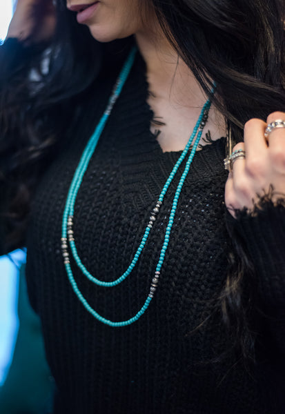 The Dainty Dani Turquoise Necklace