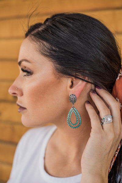 The McCoy Teardrop Earrings