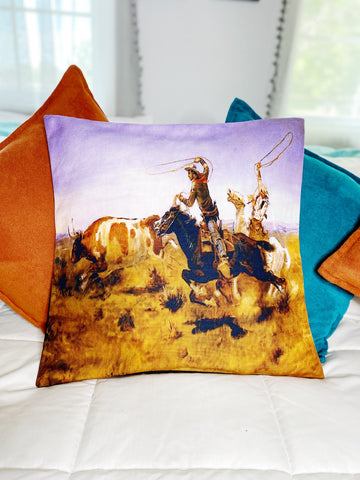 Ranch Hand Pillow Case - On The Run