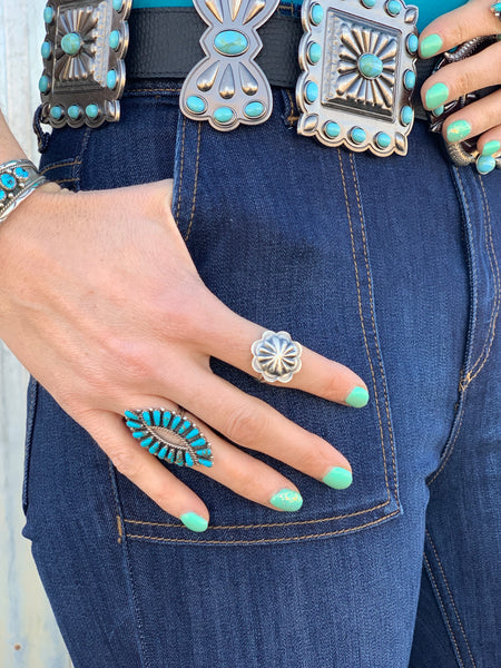 Authentic Turquoise Ring - Small - Triangle T Boutique