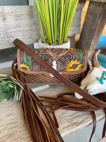 The Howler Tooled Leather Purse