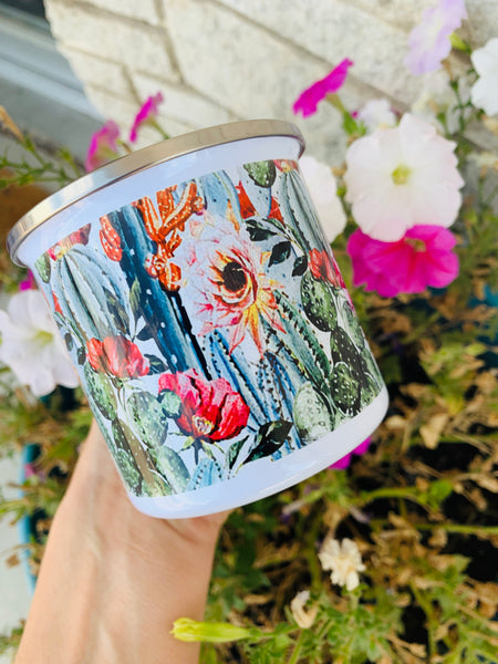 The Good Morning Tin Mugs - Triangle T Boutique