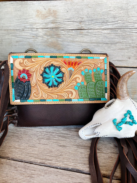 The Desert Gypsy Leather Purse