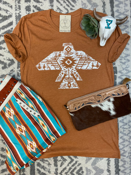 The Drifting Aztec Thunderbird Tee