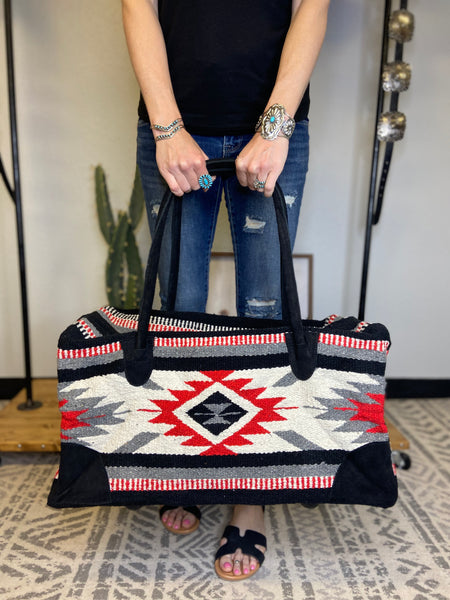 Weekend Warrior Travel Bag - Large - Triangle T Boutique