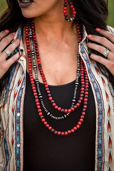 The Rojo Ranch Necklace Set