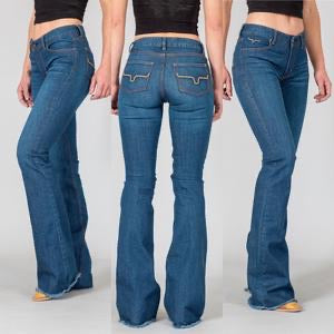 The Lola Raw Hem Jeans by Kimes