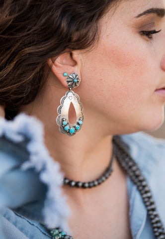 The Penelope Turquoise Earrings