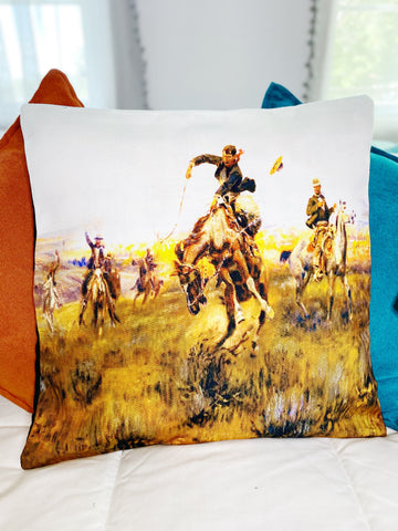 Ranch Hand Pillow Case - The Great Fall