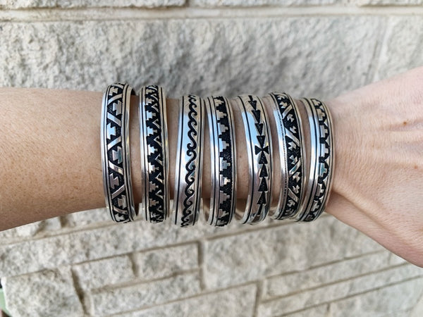 The Black Hills Cuff - Triangle T Boutique