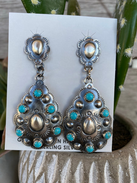 The Calamity Turquoise Earrings