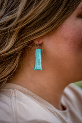 The Wyoming Slab Earring