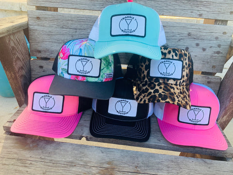 Triangle T Logo Trucker Hats - Triangle T Boutique