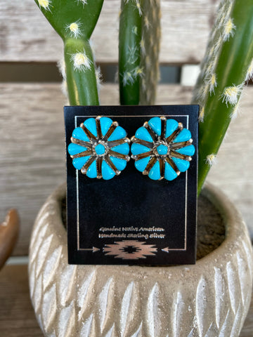 The Dawn Turquoise Earrings
