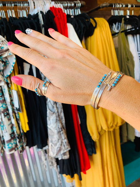Feather Cuff - Triangle T Boutique