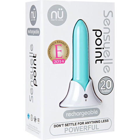 Sensuelle Point Bullet Vibrator Blue