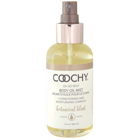 Coochy Body Oil Mist Botanical Blast 4 oz