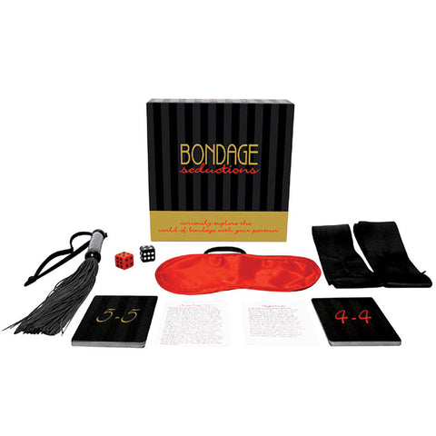 Bondage Seductions Adult Party Couples Foreplay Fantasy Sex Card Board Game