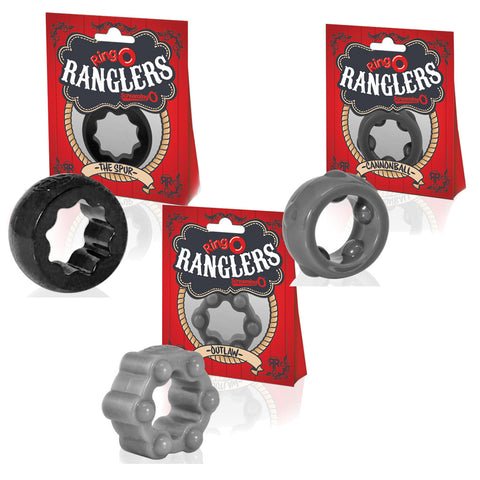 Screaming O Ranglers Penis Cock Ring Collection (3-Pack)