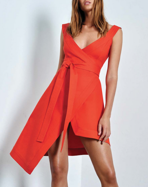 Alexis Short Wrap Dress