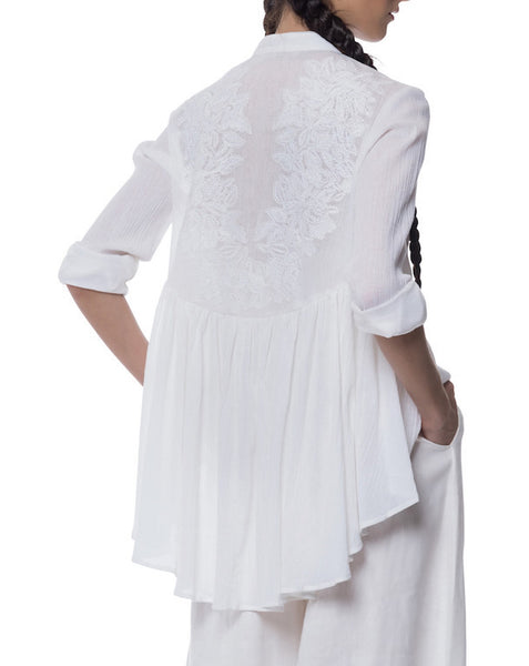 Mara Hoffman Embroidered Blouse