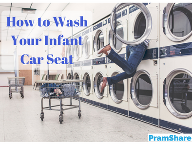 How to wash your infant car seat