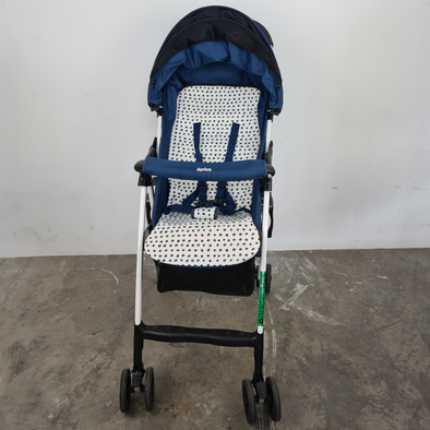 Donated Blue Aprica Stroller
